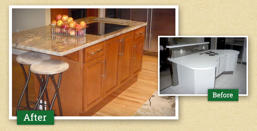 Heartwood Cabinet Refacing - Photo Gallery